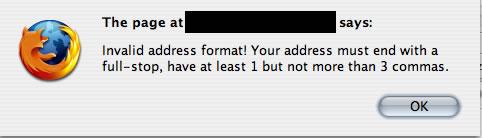 Javascript error 1